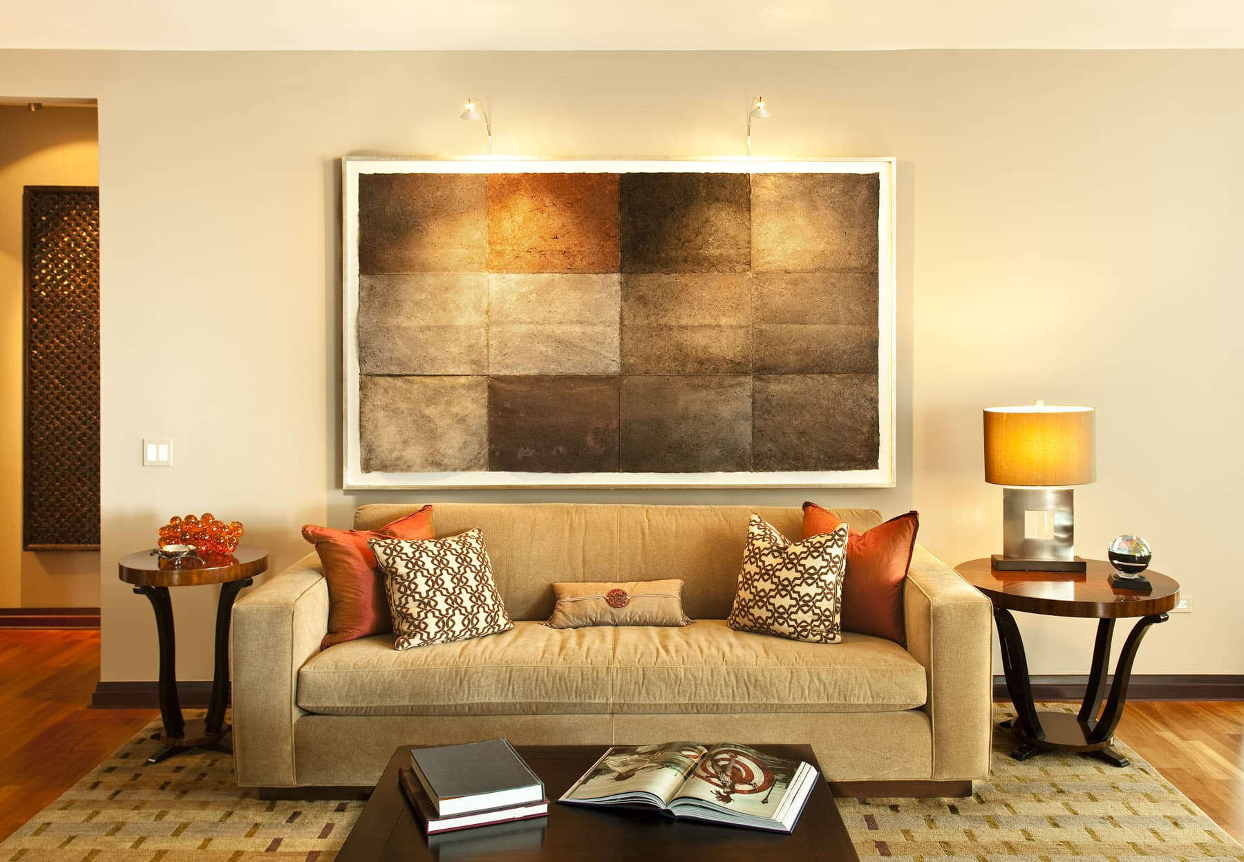 Living Room Interior Photography