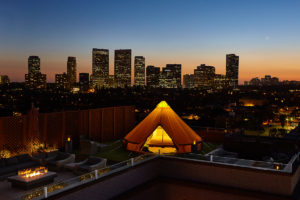 Luxury-glamping-cityscape-photo-beverly-wilshire