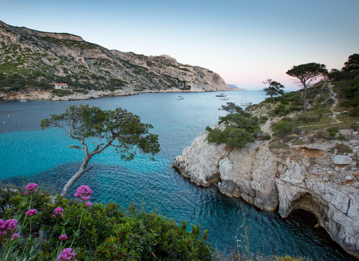 South_france_Calanques_Park_mediterranean_sea