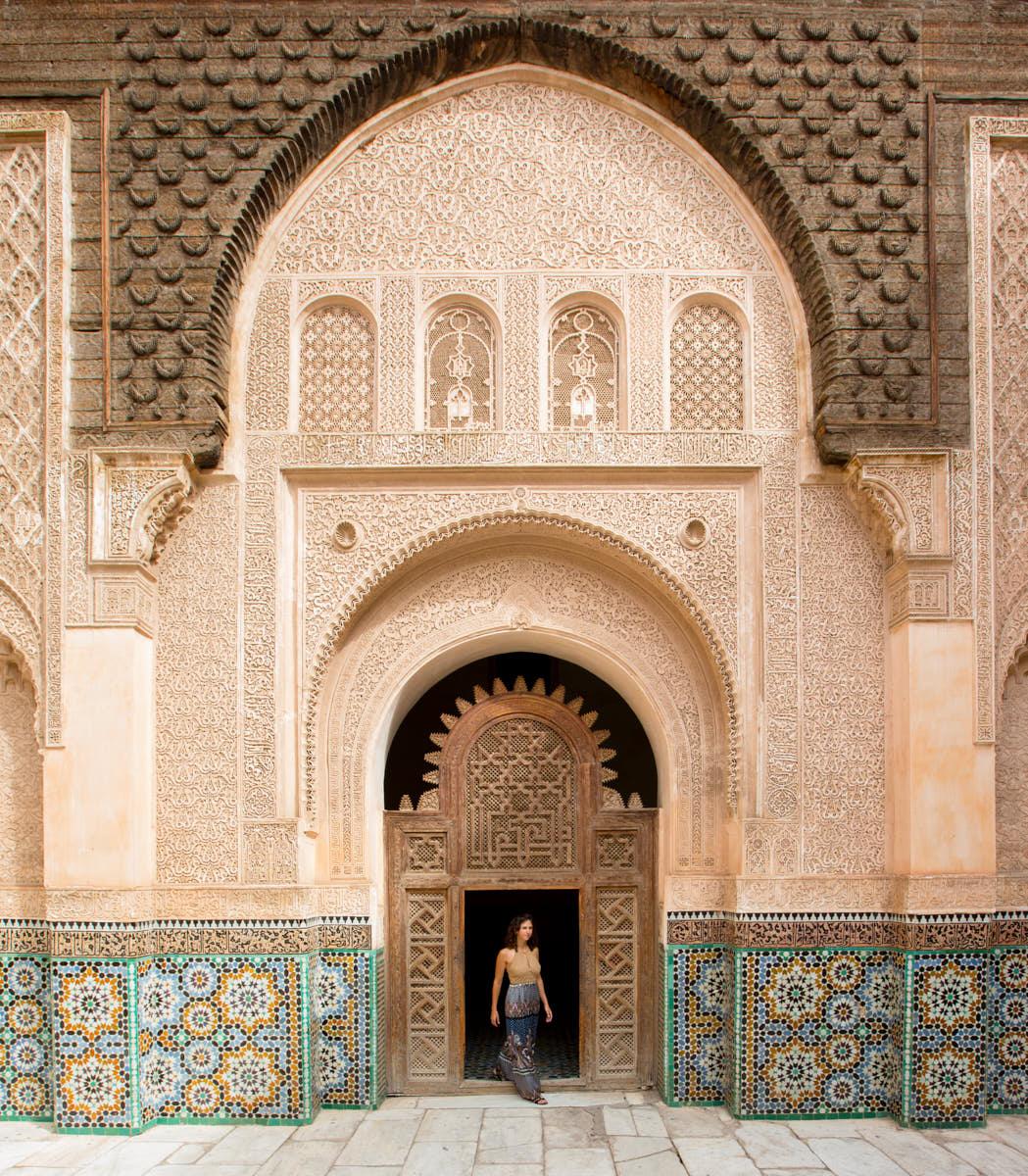 Madersa_Ben_Youssef_Marrakech_Architecture