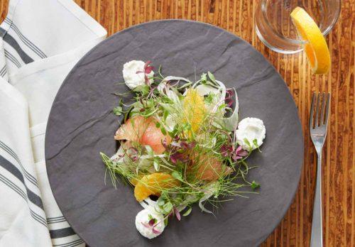 overhead-food-photo-salad-loews-hotel