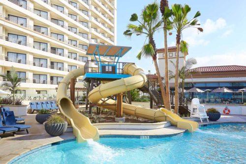 Resort_Pool_Kids_Waterslide_Hilton_Hotel