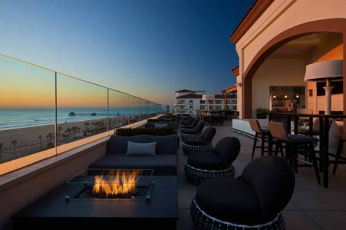 Rooftop_hotel_bar_huntington_beach_Firepits_Sunset